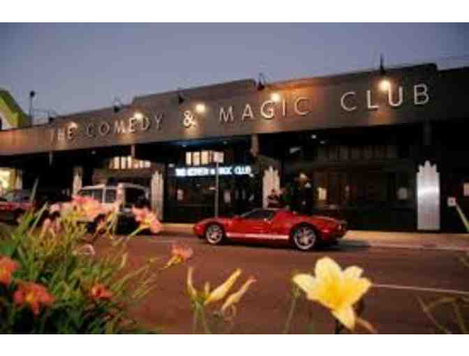 Take you and 11 Friends to The Comedy and Magic Club - Hermosa Beach