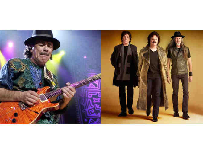 2 Tickets to Santana & The Doobie Brothers at the Hollywood Bowl June 24th