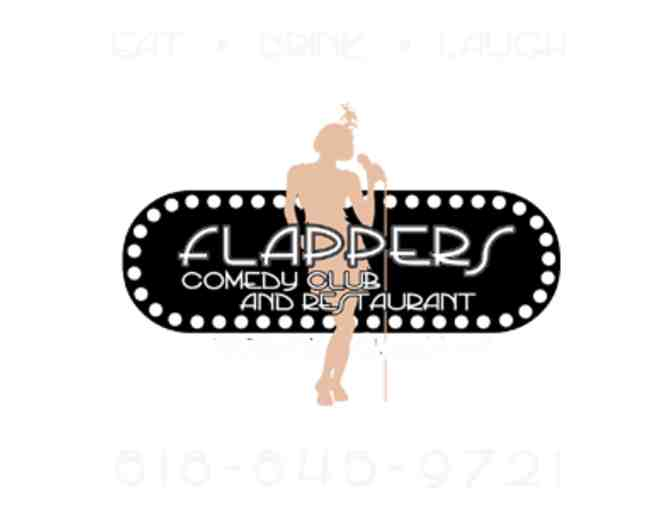 4 General Admission Tickets - Flappers Comedy Club and Restaurant