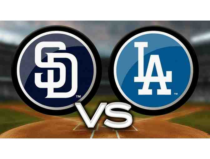 4 Dodger Tickets Reserve Level vs San Diego Padres - Photo 1