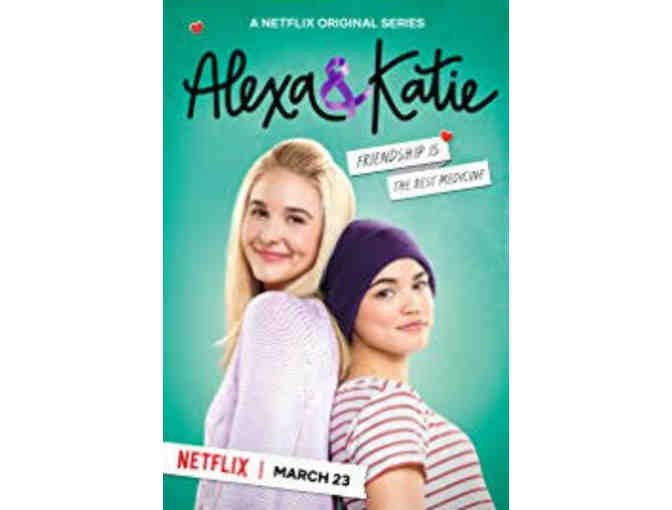 4 VIP Tickets To Netflix Show ALEXA AND KATIE