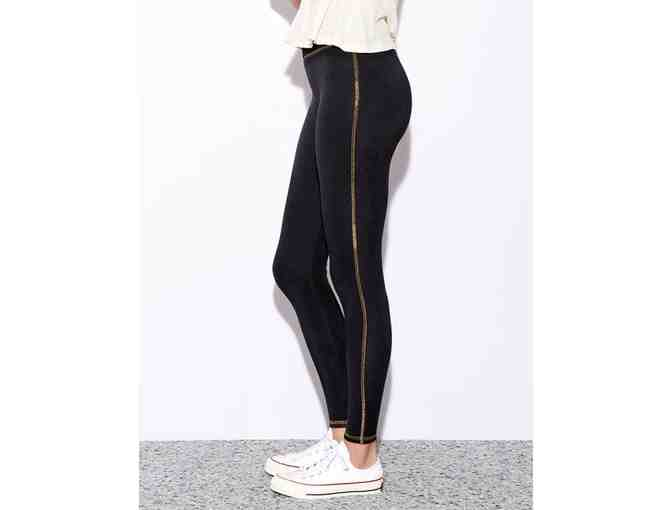 Sundry Clothing Yoga Pant with Gold Stitch