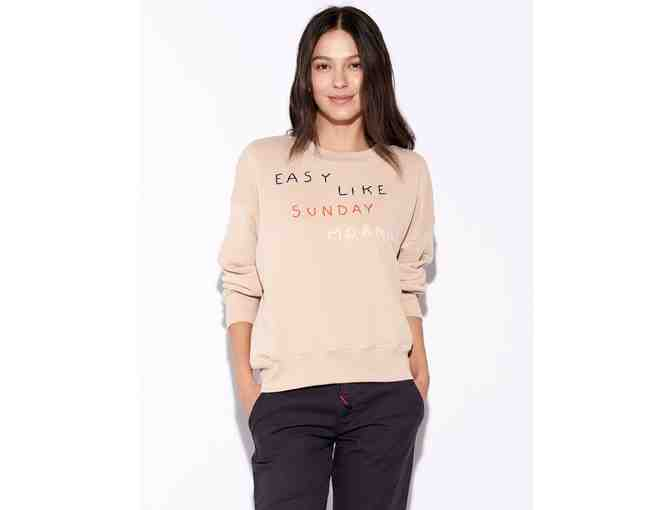 Sundry Clothing Easy Like Sunday Oversize Sweatshirt