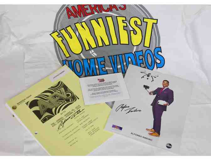 America's Funniest Home Videos Set-Vist & Swag