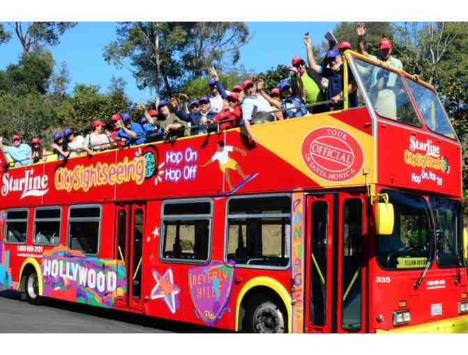 City Sightseeing Tour for 2 - Starline Tours Double Deck Bus plus Lunch!