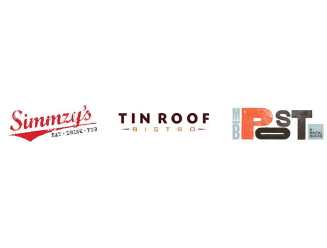 Simm's Restaurants Group - $50 Gift Card - Various Locations