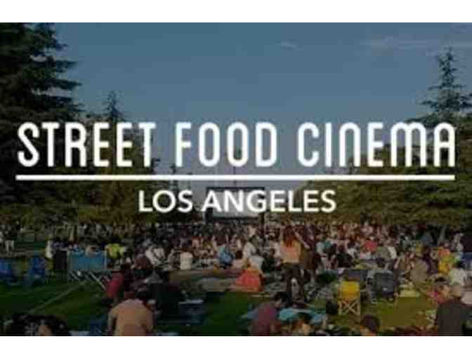 4 General Admissions Tickets to Street Food Cinema