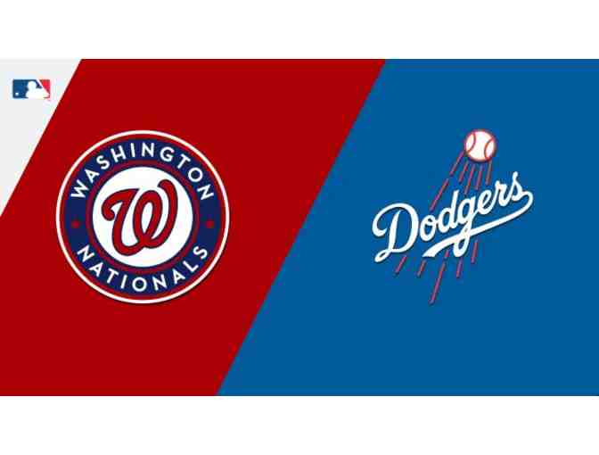2 Dodger Lexus Dugout Club Seats with Parking - Washington Nationals vs Dodgers - May 11th