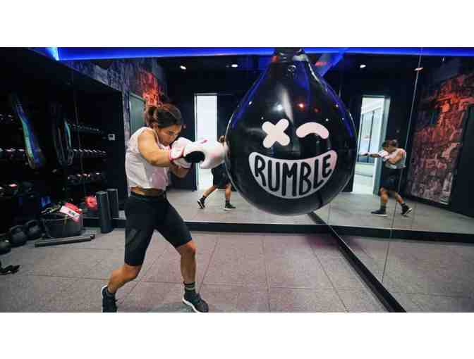 $32 Gift Card for Rumble Boxing