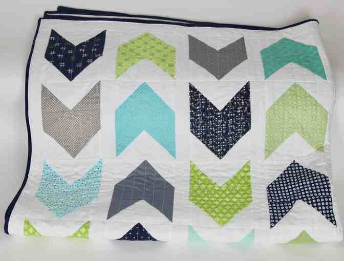 Hand-Made Twin Size Quilt