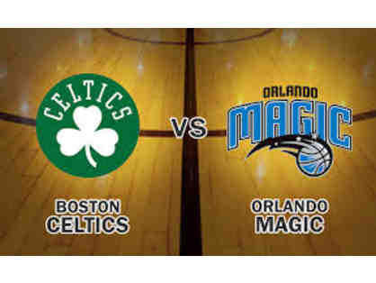 2 Celtics vs. Orlando Magic Tickets in The Cross Insurance Boardroom January 21, 2018