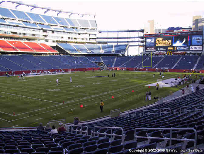 Two Tickets to Patriots vs. Bills December 21, 2019, Gillette Stadium - Photo 2
