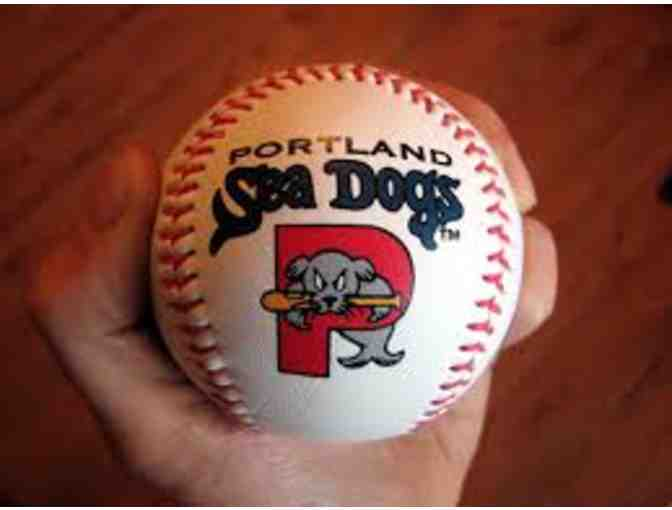 4 Portland Sea Dogs Game Tickets with First Pitch Opportunity During 2020 Season - Photo 1