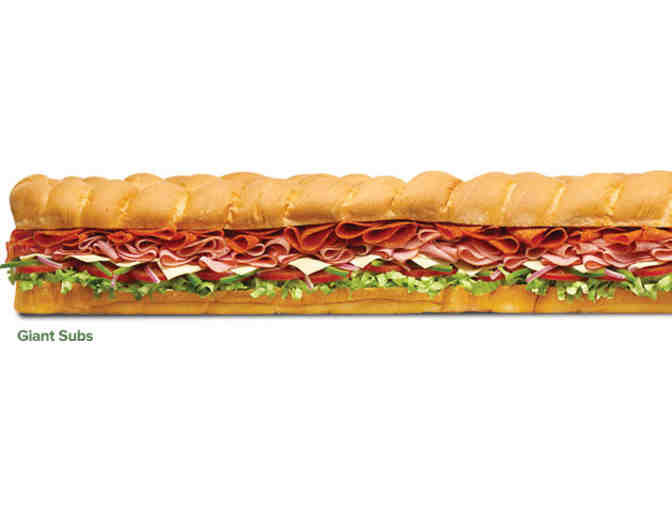 Gift Certificate for 15-Portion Party Platter from Bridgton Subway - Photo 1