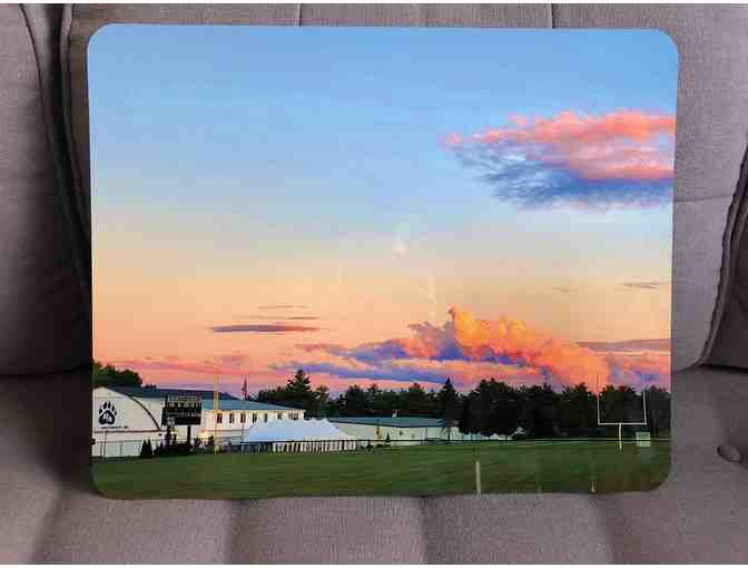 Bridgton Academy at Sunrise Photo on Metal