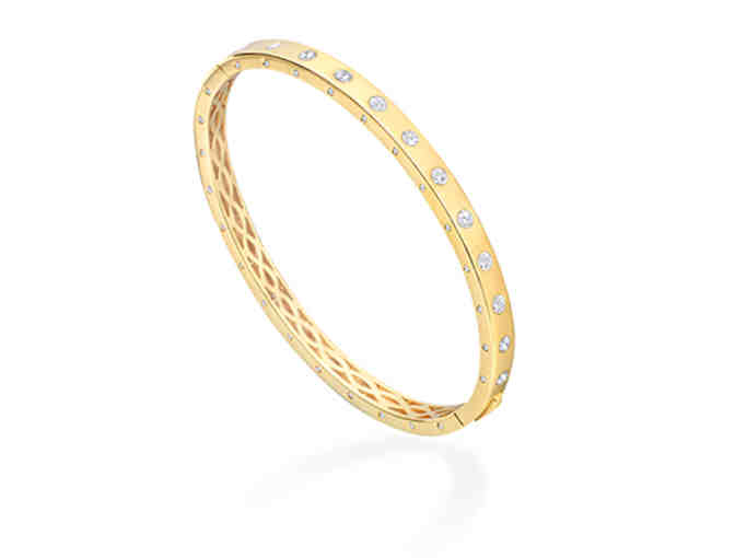 Jennifer Miller Hinged Bangle Bracelet