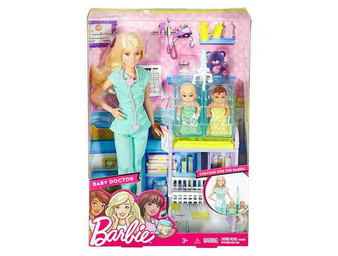 Barbie Career Edition Baby Doctor Playset