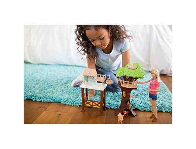 Barbie Career Edition Animal Rescuer Doll & Playset
