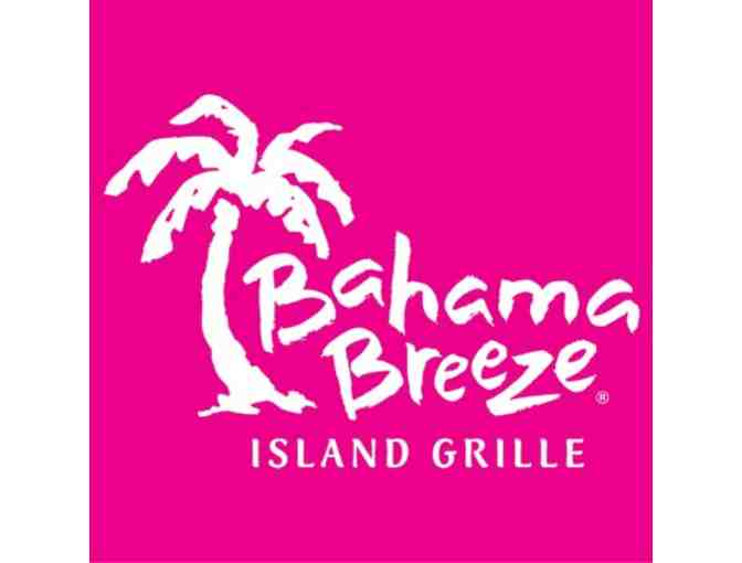 $50 Bahama Breeze Gift Card