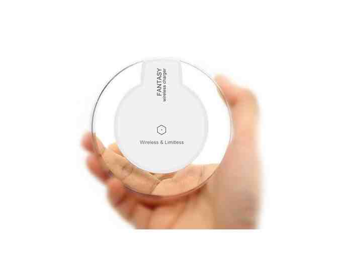 Xtreme Time Wireless Charging Pad in White