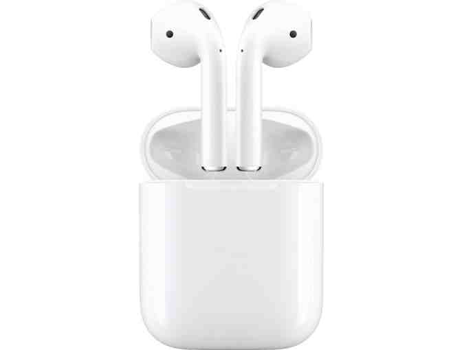 Apple AirPods with Charging Case in White - Photo 1