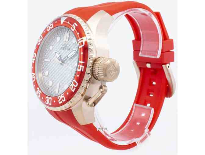 Invicta Pro Diver Men's Watch in Red