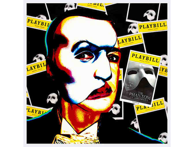 THE PHANTOM OF THE OPERA giclée print featuring Hugh Panaro as The Phantom