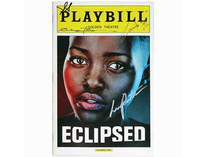 Autographed Eclipsed Playbill