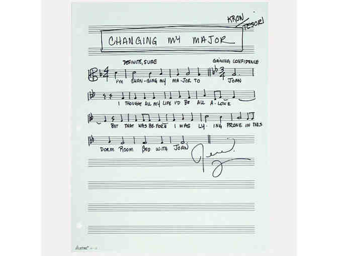 MUSICAL PHRASE ... FUN HOME ... 'CHANGING MY MAJOR'