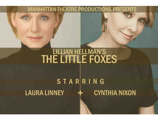 Another Opening, Another Show: THE LITTLE FOXES