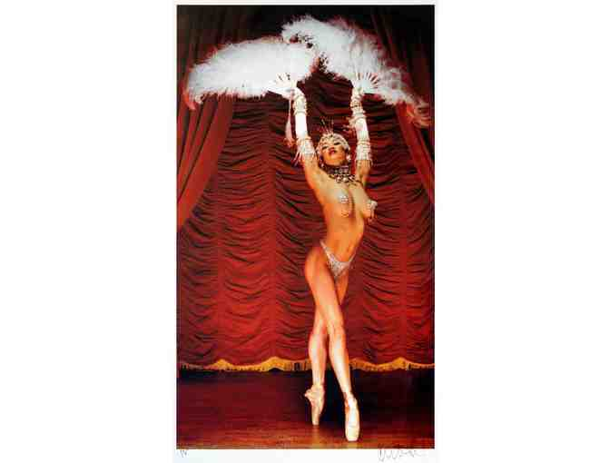 Andrew Eccles-signed Broadway Bares 13: Burlesque is Back print