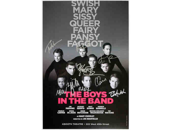 The Boys in the Band signed poster