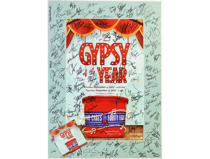 2017 Gypsy of the Year Competition signed poster and DVD