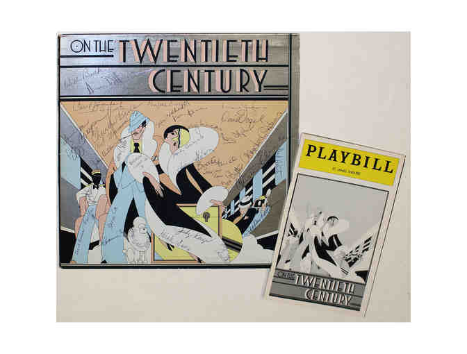 Signed original LP and Playbill from On The Twentieth Century