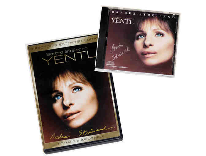 Barbra Streisand-signed Yentl DVD and CD