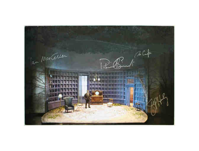 Signed set rendering from Waiting for Godot/No Man's Land