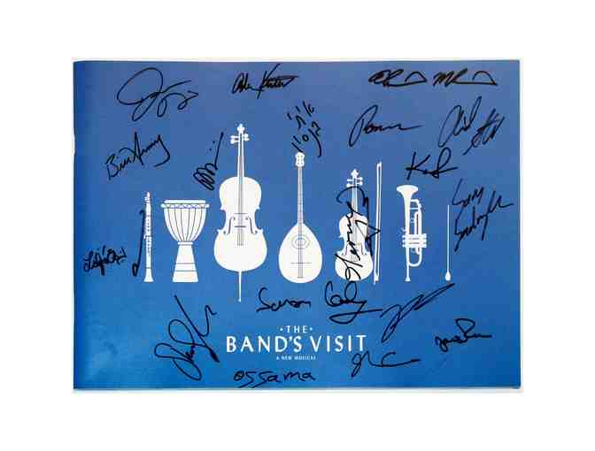 The Band's Visit souvenir program, signed by Katrina Lenk, Ari'el Stachel and the full company