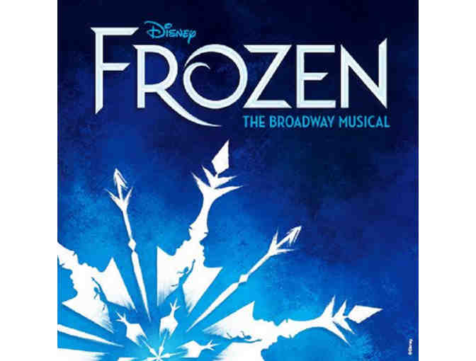 See Disney Frozen, plus meet Elsa and Anna, Broadway's Caissie Levy and Patti Murin Back