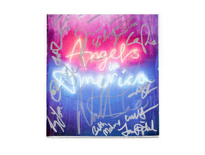 Angels in America Playbill, signed by Andrew Garfield, Nathan Lane and more