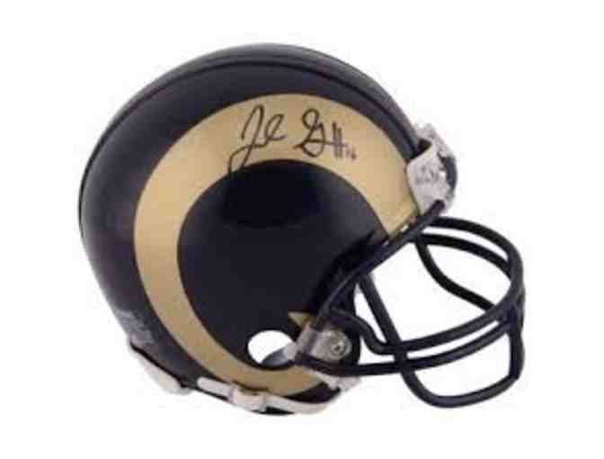 Jared Goff Signed Helmet - Photo 1