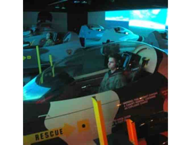 Flight Deck Simulation Experience for Kids - Photo 1