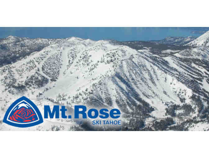 2 All Day Lift Tickets to Mt. Rose - Photo 1