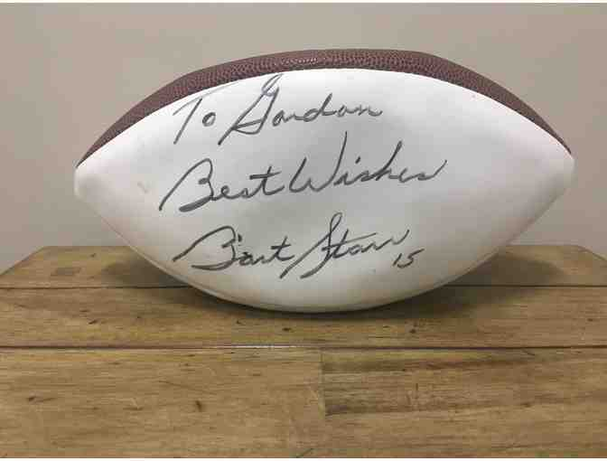 Wilson NFL Football signed by Bart Starr