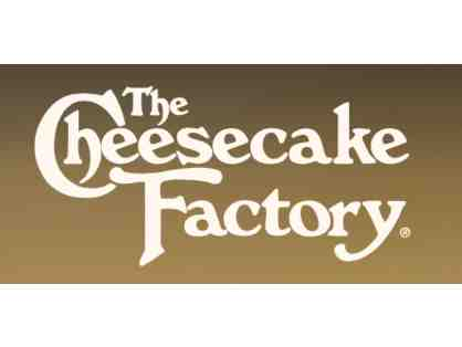 $50 Gift Card at The Cheescake Factory