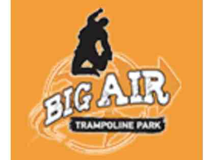 Four 1 Hour Jump Passes for Big Air Trampoline Park, Laguna Hills, CA