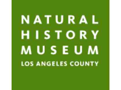 12 Tickets To Natural History Museum in Los Angeles