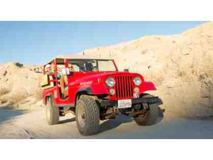 $100 Towards Purchase Of A Seat On A Public San Andreas Fault Jeep Tour
