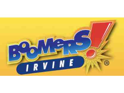 Four Passes For a Round of Golf or Go Kart Ride at Boomers Irvine