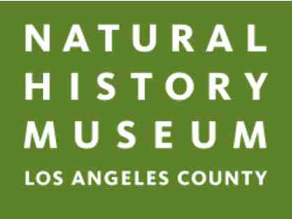 Four Passes to Los Angeles County Museum of Natural History