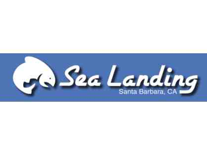 Two 1/2 or 3/4 Day Fishing Trips with Sea Landing